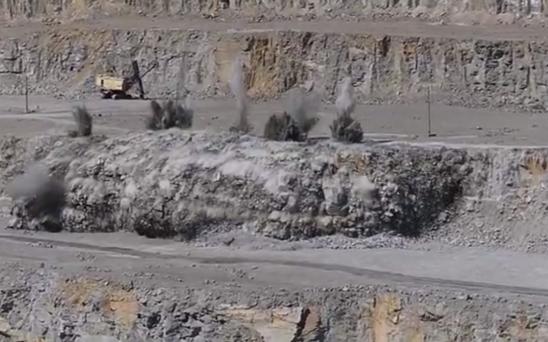 Вибух. Коростенське( Могилянське) родовище гранітів 02.09.17 (відео)