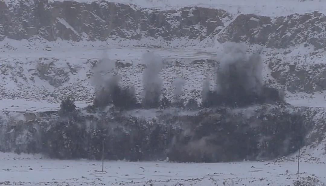 Вибух. Коростенське( Могилянське) родовище гранітів (відео).
